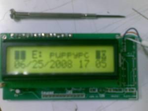 USB LCD board