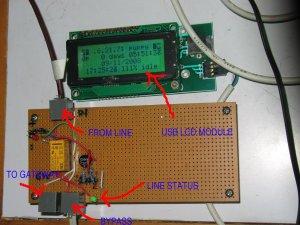 Prototipe Lifeline dan Line Monitoring System