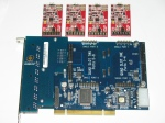 Modul XC100M dan Card TDM800P