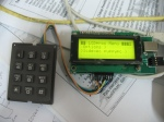 USB CS-LCD with keypad